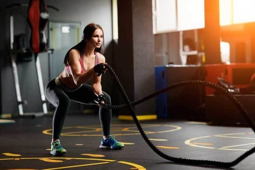 CUERDA CROSSFIT O BATTLE ROPE