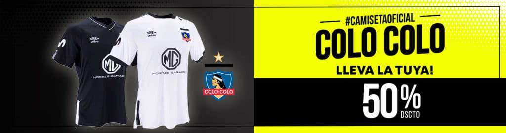 Camiseta Colo-Colo
