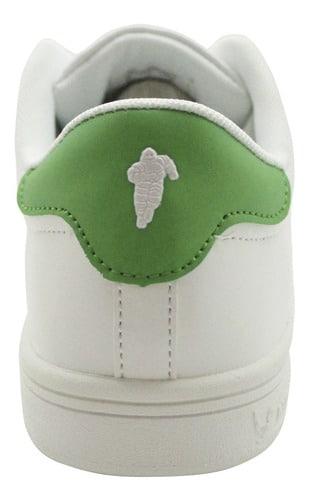 Zapatillas de Hombre Michelin Footwear Pilot Sport Blanco-Verde