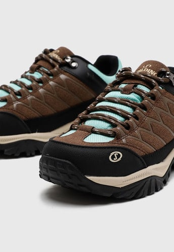 Zapatillas de Mujer Spalding Low Cut Hiking cafe