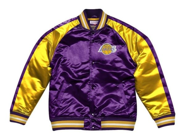 CHAQUETA HOMBRE MITCHELL AND NESS NBA CHICAGO BULLS AZUL
