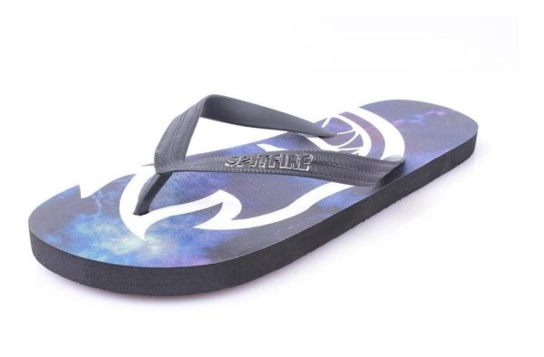 Sandalias de Hombre Logo Strap Spitfire azul-negro