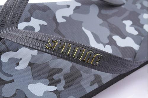 Sandalias de Hombre Gold Strap Spitfire negro/dorado