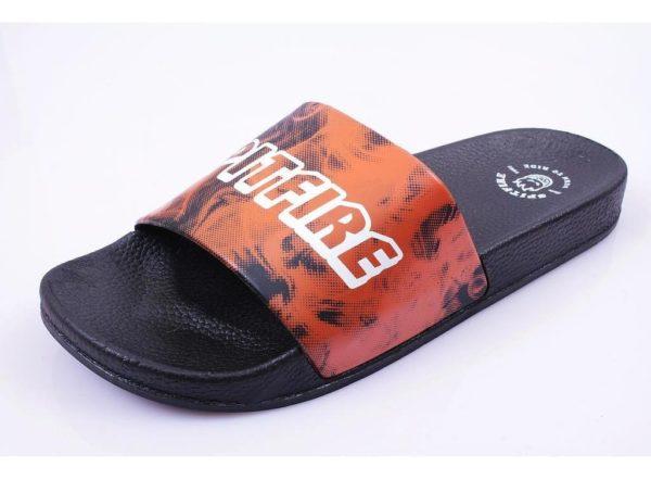 Sandalias de Hombre Fire Flip-Flop Spitfire negro fuego
