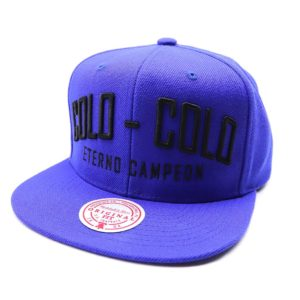 GORRO MITCHELL AND NESS COLO COLO MAYAN AZUL ROYAL