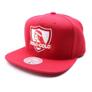 GORRO MITCHELL AND NESS COLO COLO COMO ROJO