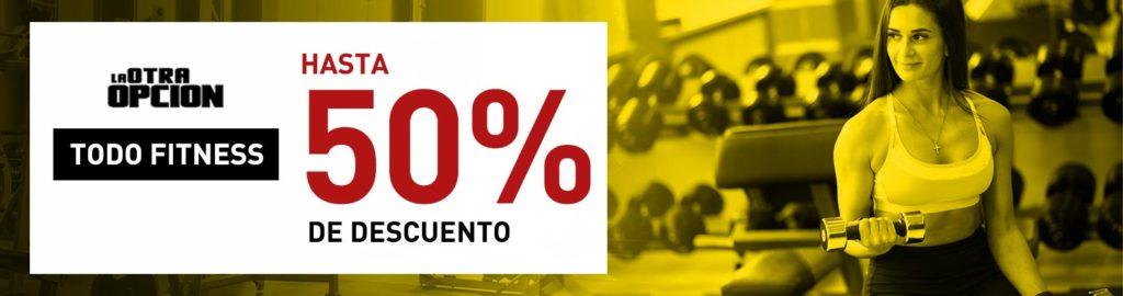 Todo Fitness hasta un 50% de Descuento
