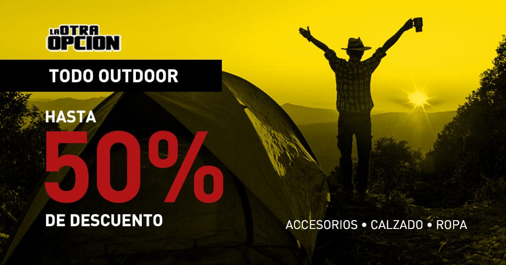 Todo Outdoor hasta con un 50% de Descuento