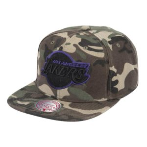 GORRO MITCHELL & NESS NBA BLACKWOOD LAKERS CAMO