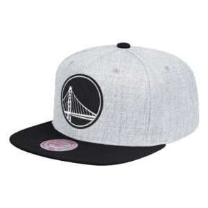 GORRO MITCHELL & NESS GREY BLACK POP WARRIORS GRIS