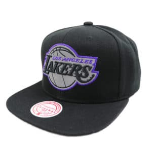 GORRO MITCHELL AND NESS NBA FLEX POP LAKERS NEGRO