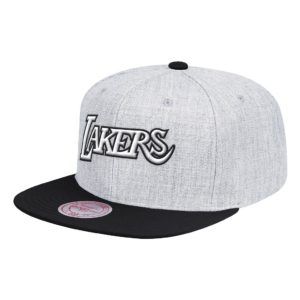 GORRO MITCHELL AND NESS NBA LOS ANGELES LAKERS GRIS
