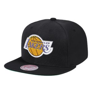 GORRO MITCHELL AND NESS NBA LOS ANGELES LAKERS NEGRO