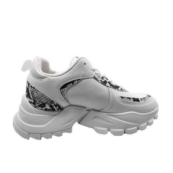 Zapatillas Urbanas de Mujer Push Up Greek Blanco