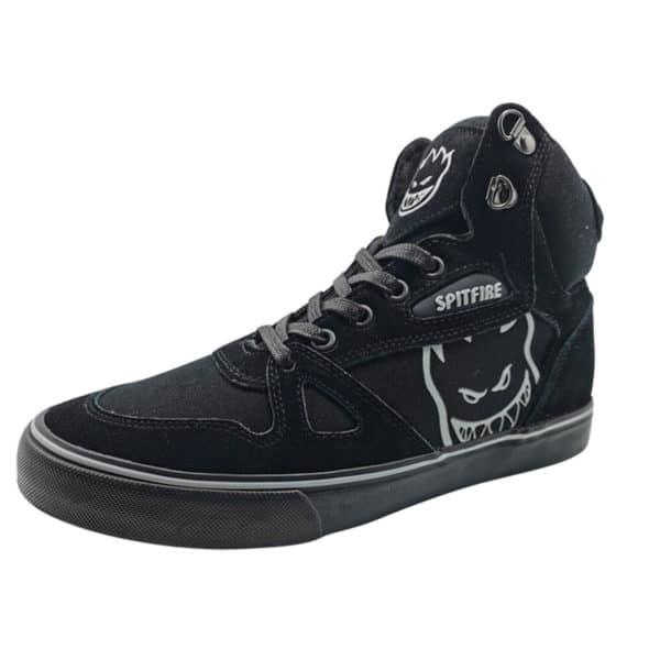 Zapatillas de Hombre Spitfire 720 Flip High Boots Negro-Negro