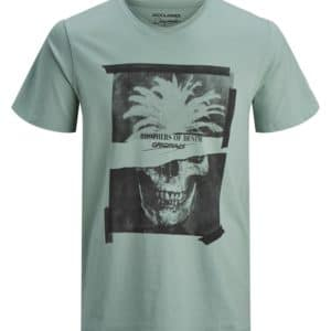 POLERA HOMBRE JACK AND JONES JORJARED VERDE