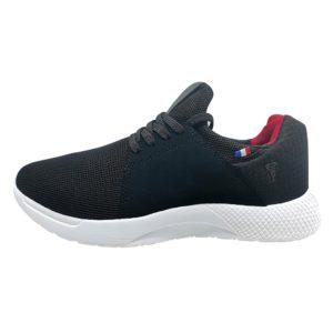 Zapatillas de Hombre Michelin Footwear Country Rock Negro-Rojo