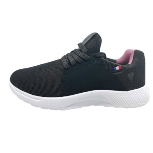 Zapatillas de Mujer Michelin Footwear Country Rock Negro-Rosado