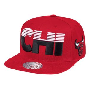 GORRO MITCHELL AND NESS BULLS NBA CITY ABV SNAPBACK