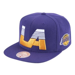 GORRO MITCHELL AND NESS LAKERS CITY MORADO