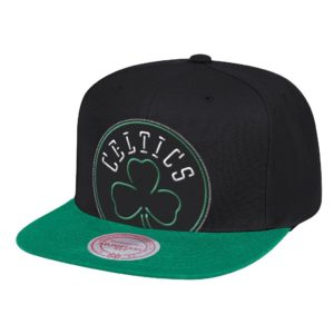 GORRO MITCHELL AND NESS CELTICS NEON CROP XL SNAPBACK NEGRO-VERDE