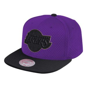 GORRO MITCHELL AND NESS LAKERS GOLD BLOCK SNAPBACK