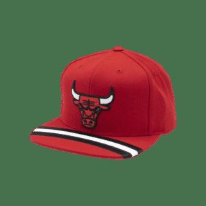 GORRO MITCHELL AND NESS CHICAGO BULLS SNAPBACK RED/BLACK