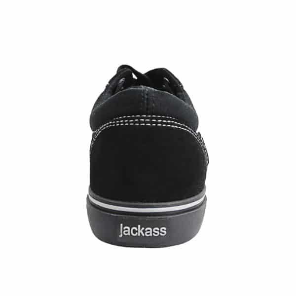 Zapatillas Hombre Jackass Crazy Bang Caña Baja SPL Vulcanizadas Negro-Negro